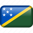 country, flag, solomon, solomon islands icon