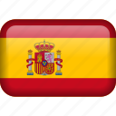 spain, country, flag icon
