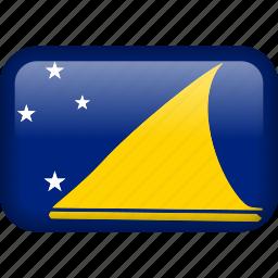 country, flag, tokelau icon