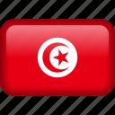 tunisia, country, flag