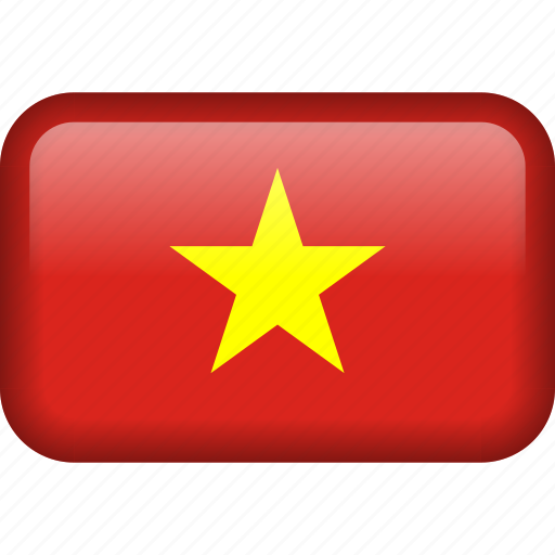 country, flag, vietnam icon
