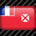 country, flag, wallis and futuna icon