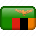 zambia, country, flag