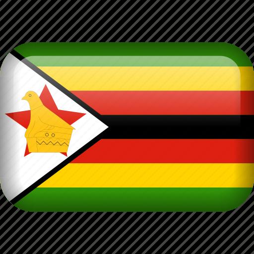 country, flag, zimbabwe icon