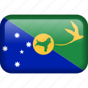 chrismas islands, flag icon