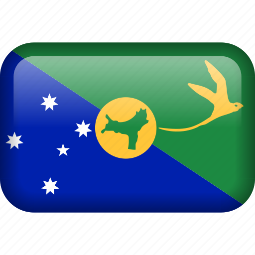 chrismas islands, flag icon
