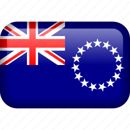 cook, cook islands, country, flag icon