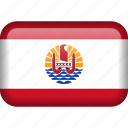 french, french polynesia, polynesia, flag icon