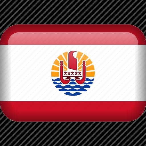 flag, french, french polynesia, polynesia icon