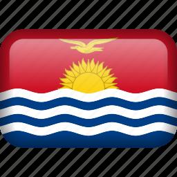 country, flag, kiribati icon