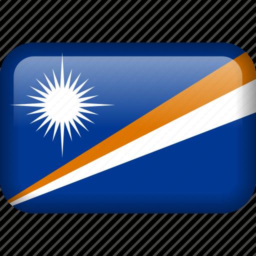 country, flag, marshall, marshall islands icon