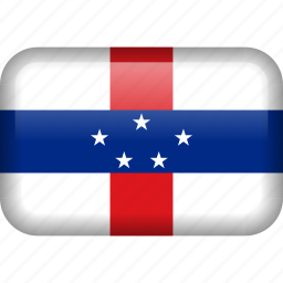 antilles, country, flag, netherlands, netherlands antilles icon
