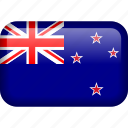 country, flag, new zealand, newzealand, nzl icon