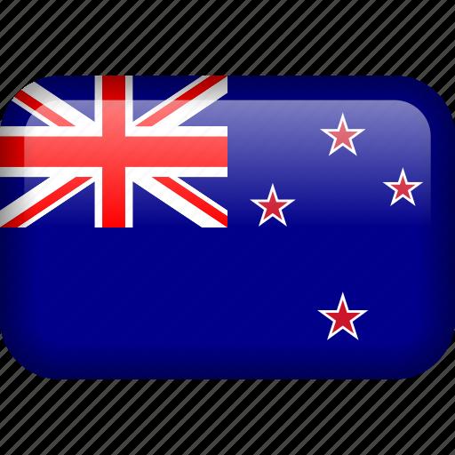 country, flag, new zealand, newzealand, nzl icon