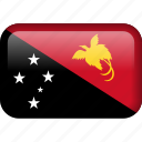 papua new guinea, country, flag