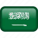 arab saudi, arabia, arabic, country, flag, saudi arabia icon