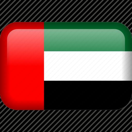 arab, country, emirates, flag, uae, united, united arab emirates icon
