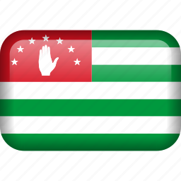 abkhazia, country, flag icon