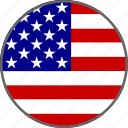 america, american, english, flag, states, united, usa icon