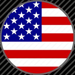 america, american, english, flag, states, united, usa icon