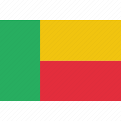 benin, country, flag, national icon
