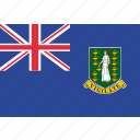 british, flag, islands, virgin icon