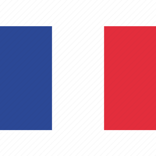 country, flag, france, french, national icon