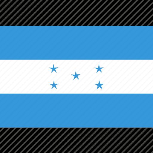 country, flag, honduras, national icon
