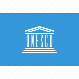 flag, unesco icon