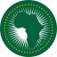 africa, african, african union, au, circle, circular, country, flag, flag of african, flags, national, round, union, world icon