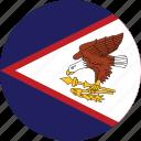 american, flag, samoa icon