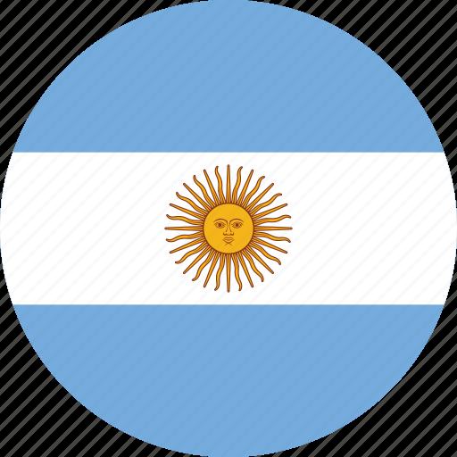 Slikovni rezultat za argentina flag circle