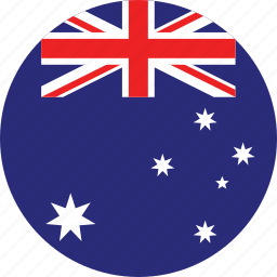 australia, australia flag, circle, circular, country, flag, flag of australia, flags, national, round, world icon