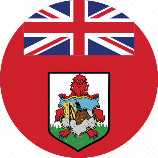 bermuda, bermuda flag, circle, circular, country, flag, flag of bermuda, flags, national, round, world icon