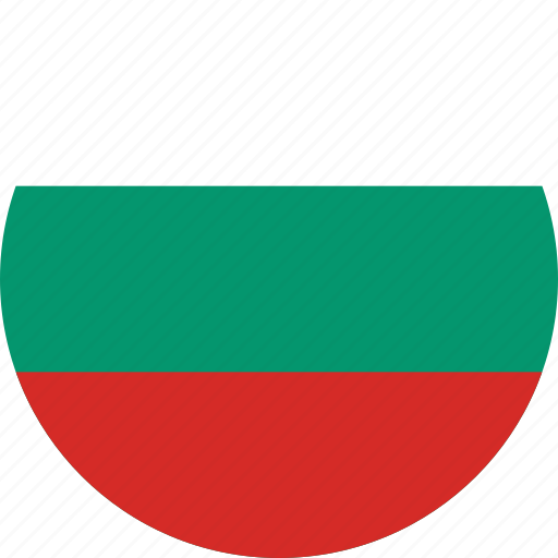 bulgaria, bulgaria flag, circle, circular, country, flag, flag of bulgaria, flags, national, round, world icon