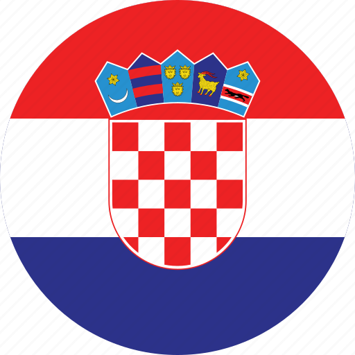Image result for croatia flag circle