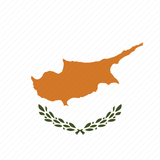 circle, circular, country, cyprus, cyprus flag, flag, flag of cyprus, flags, national, round, world icon