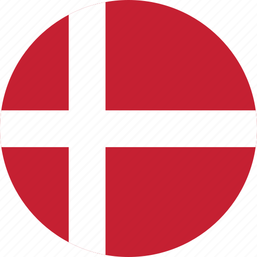 Image result for denmark flag circle