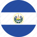 el, salvador, flag