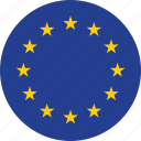 europe, flag, flags icon