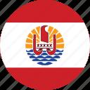 flag, french, polynesia icon