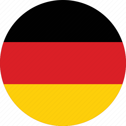 circle, circular, country, dutch, flag, flags, germany icon
