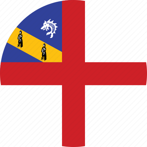 circle, circular, country, flag, flag of herm, flags, herm, herm flag, national, round, world icon