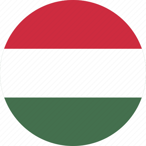circle, circular, country, flag, flag of hungary, flags, hungary, hungary flag, national, round, world icon