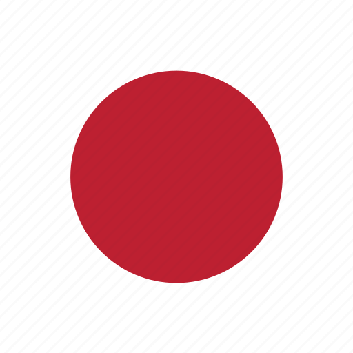 circle, circular, country, flag, flag of japan, flags, japan, japan flag, national, round, world icon