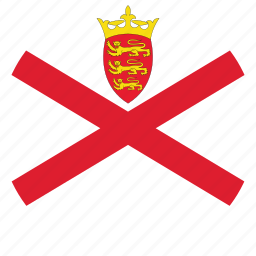circle, circular, country, flag, flag of jersey, flags, jersey, jersey flag, national, round, world icon