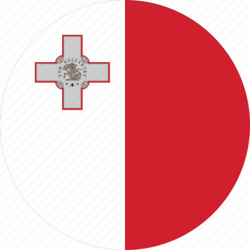 Image result for malta circle flag