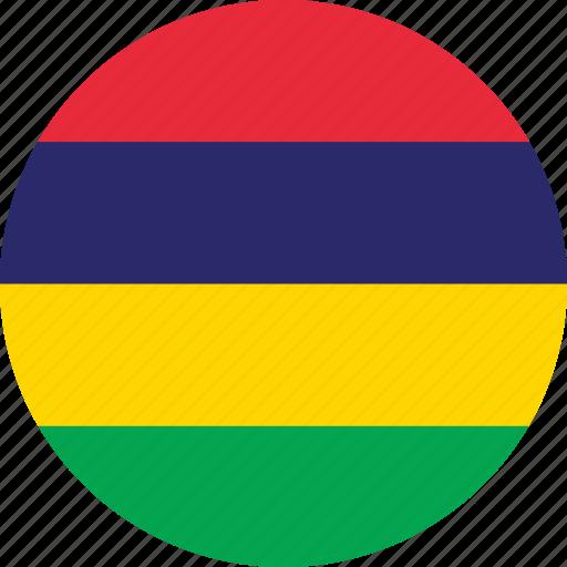 Slikovni rezultat za CIRCLE FLAG Mauritius