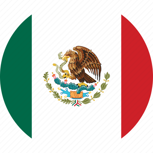 Image result for mexico flag circle