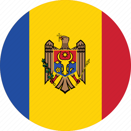 Image result for moldova circle flag